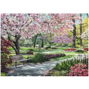 Bill Mangum Print - Tanger Garden