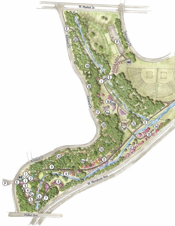 arboretum map 2020